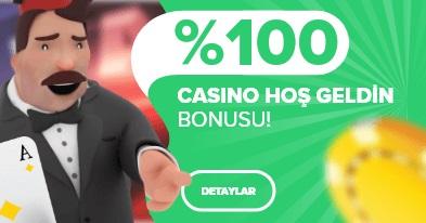 Markobet casino hoşgeldin bonusu